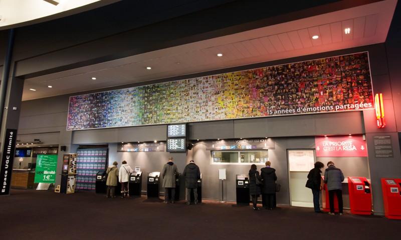 affiche réalisée pour l'UGC Ciné-Cité de Strasbourg - Sandra Willauer - Thibaut Schell