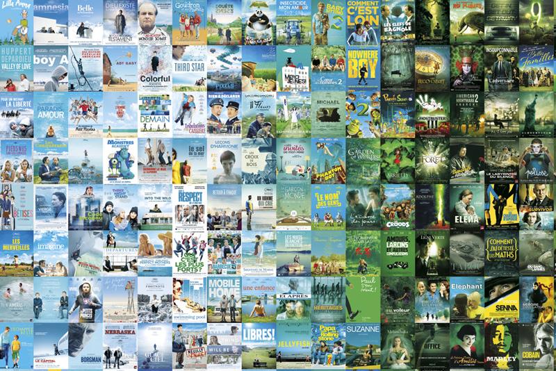 Détail de l'affiche réalisée pour l'UGC Ciné-Cité Strasbourg