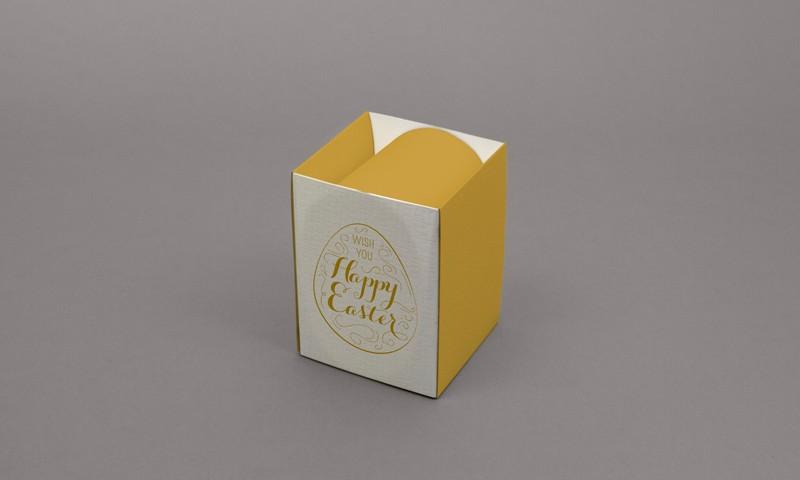 Packaging pour œuf de Pâques