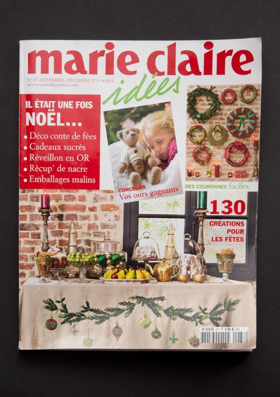 Marie Claire idées n°87 - novembre-décembre 2011