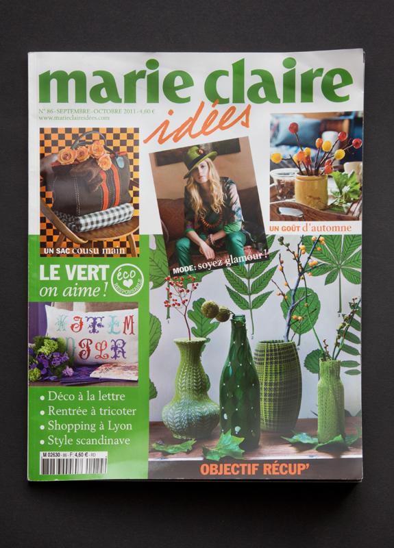 couverture de Marie Claire idées n°86 - septembre-octobre 2011.
