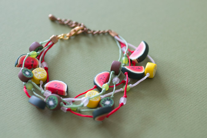Bracelet salade de fruits