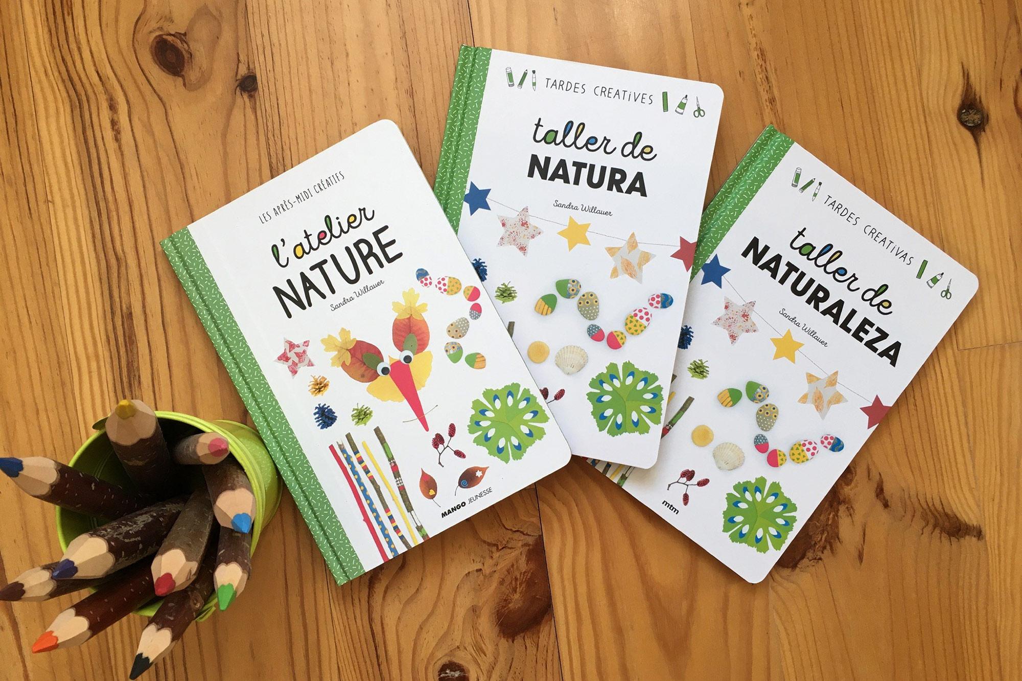 L'atelier nature dans ses éditions française, espagnole et catalane